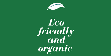 eco friendly banner