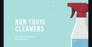Non toxic Cleaners banner