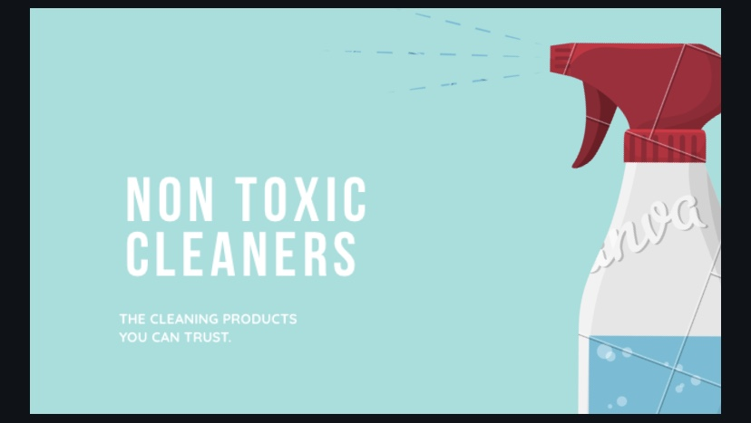 Non – Toxic Cleaning Products That You Can Buy At The Store